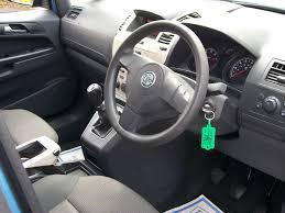 opel zafira 2002 interior vauxhall zafira 1 6 i 16v life 5dr 7 seater perfect family car