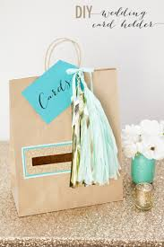 wedding gift bag diy wedding card holder gift bag by jen carreiro project