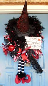 296 best wreaths halloween wreaths and door decor images on