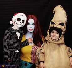 the nightmare before family costume
