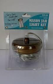 Hanging Pendant Light Kit Hobby Lobby Mason Jar Hanging Pendant Light Kit Plug In Lamp Ebay