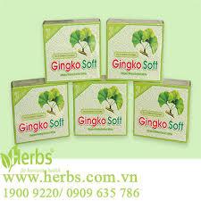 soft green bán sản phẩm an thần tuần hoàn não traly gingko softcap 10 vỉ x