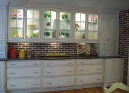 stunning built in kitchen buffet with double door cabinets with