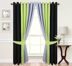 Curtains White And Grey Curtain Gray And White Blackout Curtains Black And Grey Curtains