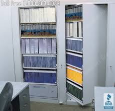 rotary file cabinets seattle spinning double deep office storage