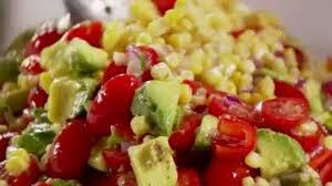 ina u0027s corn and avocado salad food network