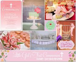 communion ideas girl s communion celebration ideas