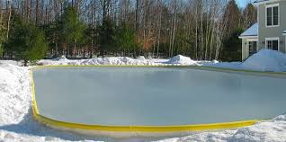 How To Make An Ice Rink In Your Backyard Backyard Ice Skating Rinks Savol Pools