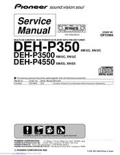 pioneer super tuner iii d deh p4550 manuals