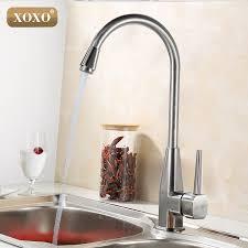 how to open kitchen faucet aliexpress buy xoxo single open kitchen faucet zinc
