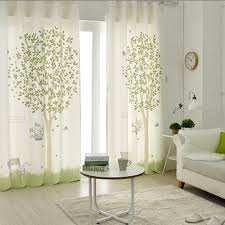 Curtains For A Nursery 1x Grommet Drapery Drape Glass Curtain Nursery Children Room