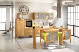 küche freistehend annex urbanes wohnen mit kuechenmodulen aus massivholz