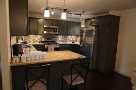 track lighting over kitchen island track lighting kitchen idea