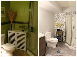 small bathroom ideas paint colors before and after ideas to update small bathroom with corner