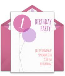 online birthday invitations free 1st birthday online invitations punchbowl
