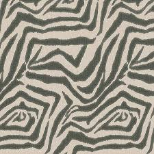 Taupe Zebra Rug Dark Taupe Zebra Fabric Zebra Ikat Steel Loom Decor