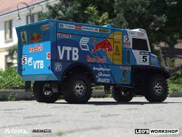 rally truck build axial racing custom build scx10 dakar rally truck by leo workshop