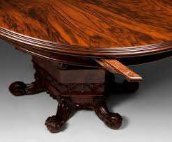 Baroque Coffee Table by Early 20th C Italian Rosewood Baroque Style Oval Breakfast Table