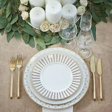 gold flatware rental 94 best chinaware chargers images on event design