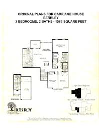 carriage house floor plans rob roy country club village floor plans