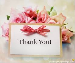 beautiful thank you note thanks cards note