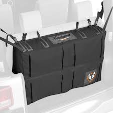jeep tailgate storage rightline gear jeep wrangler 2007 2017 trunk storage bag