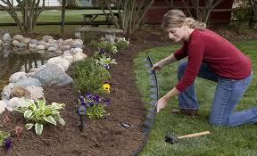 garden excellent flower bed design simple flower bed ideas