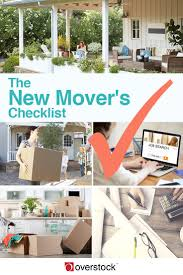 the ultimate new mover u0027s checklist overstock com
