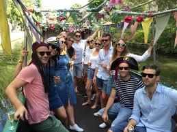 canal boat party kings cross london