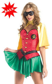 Batman Robin Halloween Costumes Girls Discount Womens Robin Halloween Costumes Sale Female Batman Robin