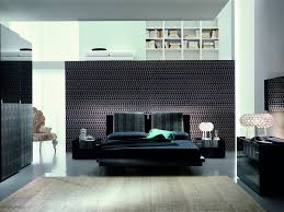Black Platform Bed The Luxe Modern Black Platform Bed