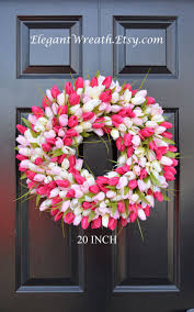 Spring Wreaths For Door by Backyards Spring Front Door Decorations For Decoration Ideas Diy