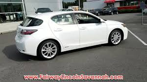 used lexus in durham used 2012 lexus ct 200h leather at fairway lincoln mazda p384722a