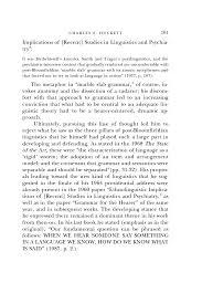 charles f hockett biographical memoirs volume 89 the
