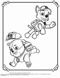 paw patrol coloring pages to print getcoloringpages com