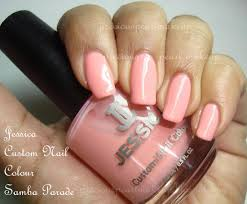 preciouspearlmakeup jessica custom nail color samba parade