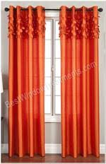 Red Orange Curtains Kids U0026 Tween Curtains Bestwindowtreatments Com