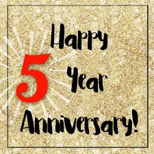 5 year anniversary ideas big changes celebrating 5 years of business plastic moving