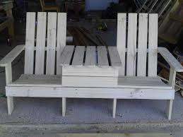 Seating Out Of Pallets by Adirondack Jack U0026 Jill Chair From Pallets U2022 1001 Pallets