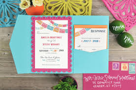 wedding invitation pockets colorful inspired diy wedding invitation cards pockets
