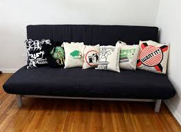 eco rehash how to make recycled throw pillows in a flash
