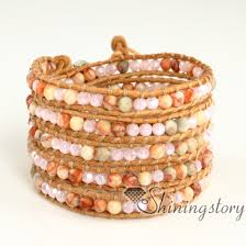 bracelet handmade images Wholesale wrap bracelets leather jewelry bracelet wrap woven jpg