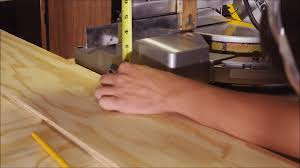 Table Saw Laminate Flooring How To Make A Portable Miter Saw Table Jeff U0027s Diy Projects