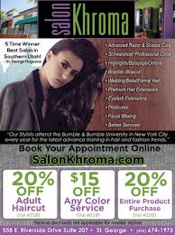 salon khroma in st george utah coupons deals and discounts