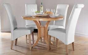 Modern White Dining Room Chairs Luxury Wood Round Dining Tables Set Home And Dining Room With