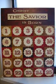 sunlit pages christ the savior is born advent calendar