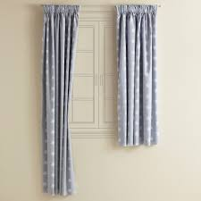 White Curtains For Nursery by Blue Curtains With White Stars Best Curtain 2017