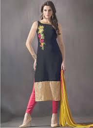 designer dress s georgette black designer dress material