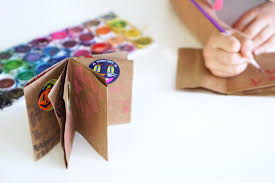 diy mini art book crafts for kids pbs parents pbs