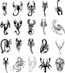 3d scorpion tattoo design idea